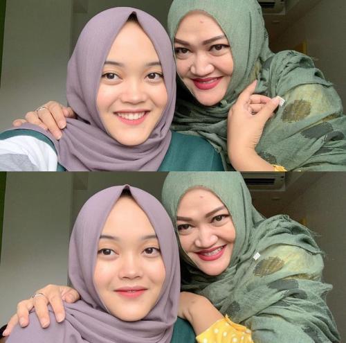 Putri Delina dan Lina Jubaedah