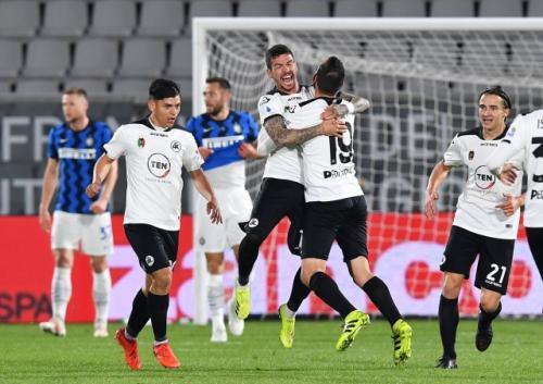 Spezia vs Inter Milan (Foto: Reuters)