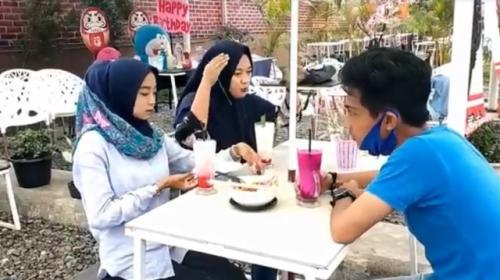 Minuman segar dan menyehatkan khas Binjai. (Foto: Zainal Tanjung/iNews TV)