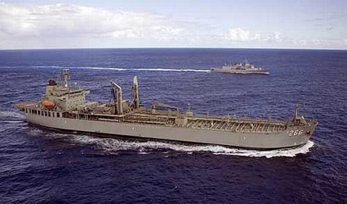 Kapal milik Australia turut membantu pencarian KRI Nanggala 402 (Foto : Indomiliter.com)