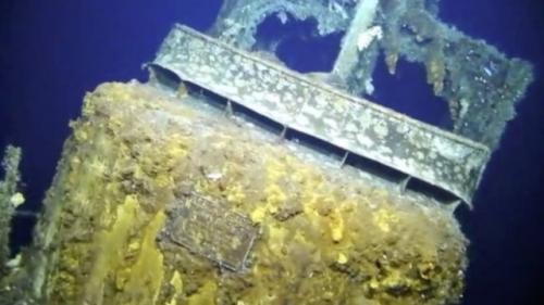 USS Grayback. (Foto: BBC)