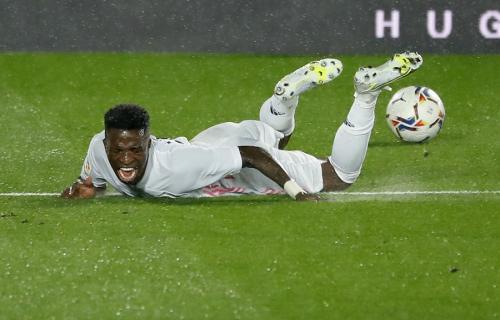 Vinicius Jr (Foto: Reuters)