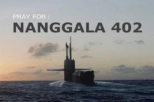 KRI Nanggala 402.