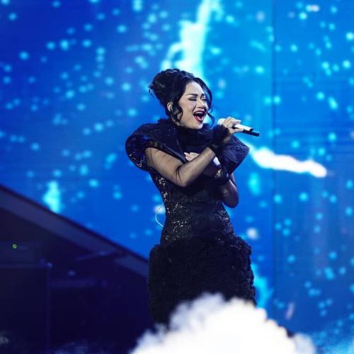 Penampilan Krisdayanti di panggung Indonesian Idol. (Foto: Instagram/@indonesianidolid)