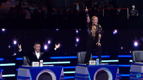 Maia Estianty di Grand Final Indonesian Idol 2021. (Foto: RCTI)