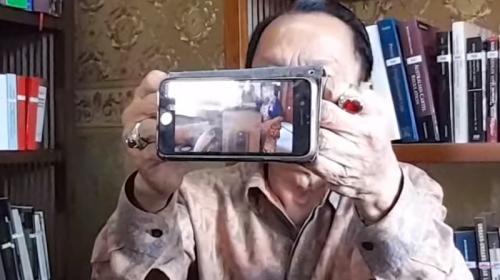 Muara Karta beberkan bukti video seputar pencurian isi brankas Hotma Sitompul. (Foto: Intens Investigasi)