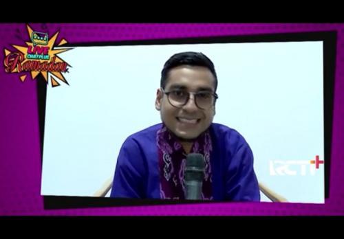Bobby Maulana dalam Live Chat Plus. (Foto: RCTI+)