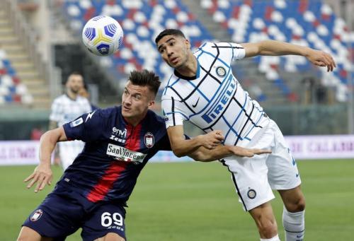 Crotone vs Inter Milan