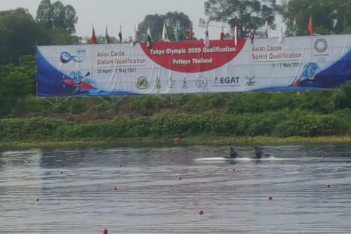 Kualfikasi Asia untuk dayung kano dan kayak Olimpiade Tokyo 2020 (Foto: Antara)