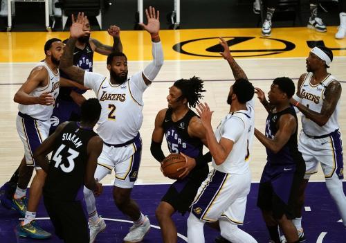 LA Lakers vs Toronto Raptors (Foto: Reuters)