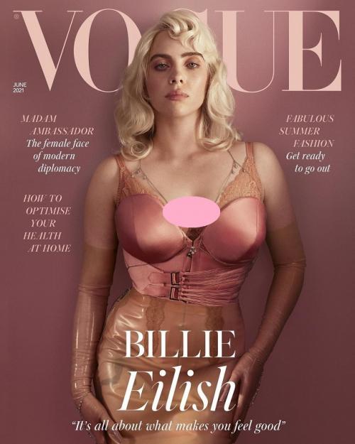 Billie Eilish. (Foto: VOGUE British)