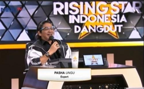 Pasha Ungu di Rising Star Indonesia Dangdut