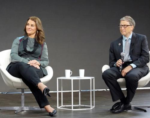 Bill Gates dan Melinda Gates. (Foto: Reuters)
