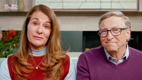Bill dan Melinda Gates.