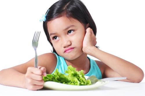 anak kurang makan serat