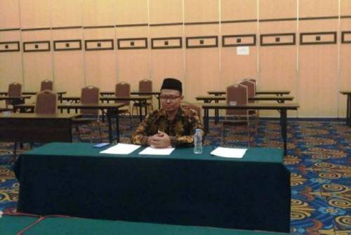 Muhammad Shohibul Huda lulus seleksi imam masjid di UEA. (Foto: Dok pribadi via Okezone)