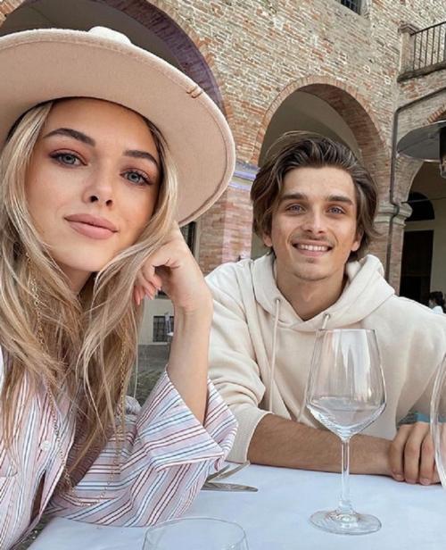 Luca Marini dan Marta Vincenzi
