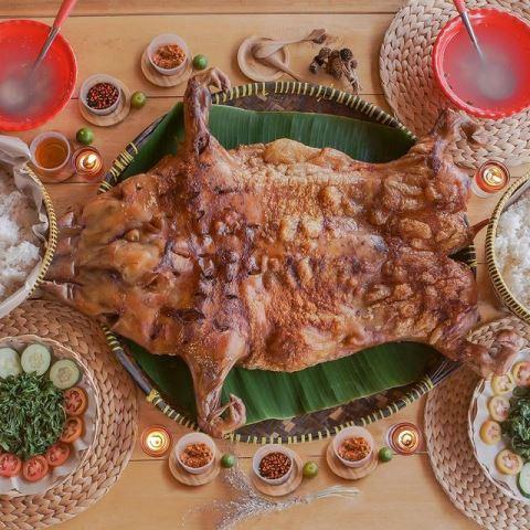 Bipang ambawang makanan khas Kalimantan. (Foto: Ist)