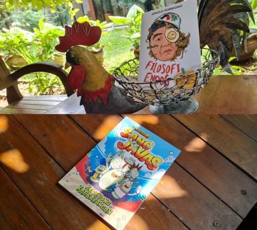Novel dan komik Kaesang Pangarep dan Chef Arnold