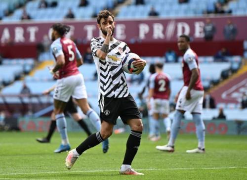 Bruno Fernandes calon pemain terbaik Liga Inggris 2021-2022 (Foto: Reuters)