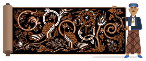 Google Doodle 90 tahun Go Tik Swan. (Foto: Google)