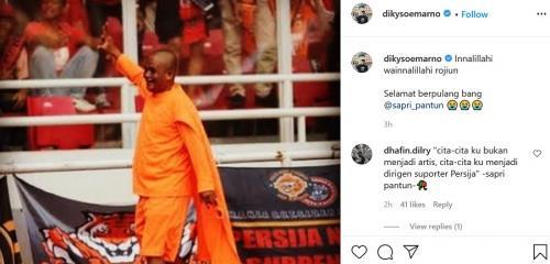 Sapri Pantun (Foto: Instagram/@dikysoemarno)