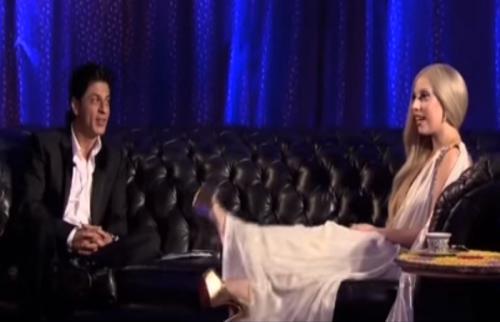 Shah Rukh Khan dan Lady Gaga.