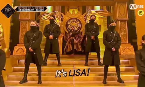 Lisa BLACKPINK. (Foto: YouTube/Mnet)
