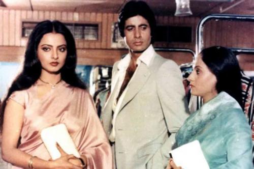 Amitabh Bachchan, Jaya dan Rekha.