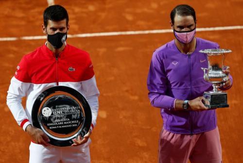 Rafael Nadal vs Novak Djokovic di Italia Open 2021