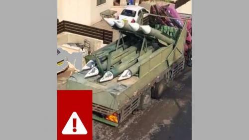 Hamas memindahkan rudal