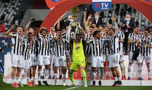 Juventus juara Coppa Italia