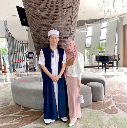 Alvin Faiz dan Larissa Chou. (Foto: Instagram/@alvin_411)