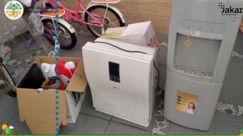 Sampah elektronik (Foto: Instagram/@aniesbaswedan)