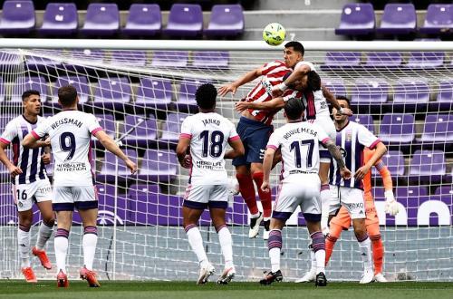 Real Valladolid vs Atletico Madrid (Foto: Reuters)