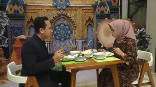 Nasi rawon Semarang. (Foto: Taufik Budi/MNC Media)