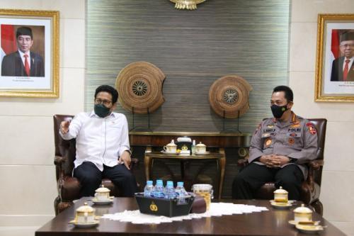 Kapolri Listyo Sigit dan Mendes Abdul Halim (Foto : Istimewa)