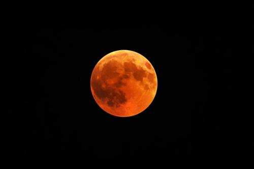 Gerhana bulan. (Foto: Wirestock/Freepik)