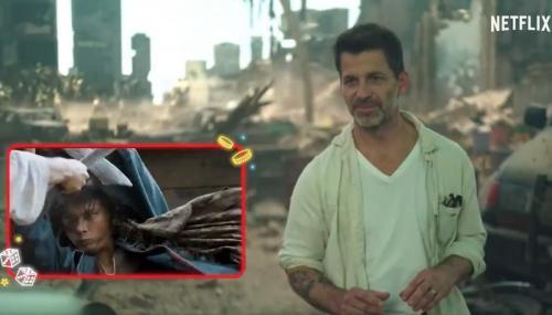 Nicholas Saputra dan Zack Snyder