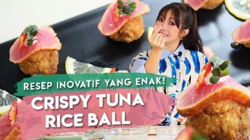 Chef Marinka bagikan resep crispy tuna rice ball. (Foto: YouTube Rinrin Marinka)