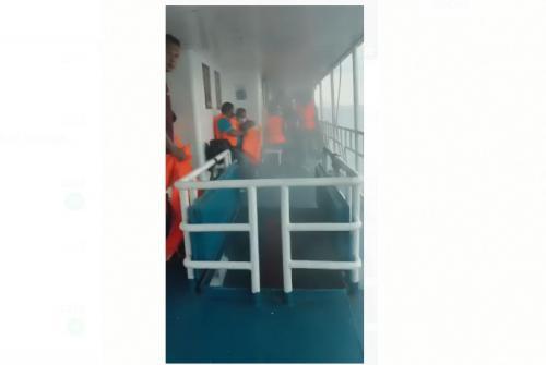 Kapal KM Karya Indah