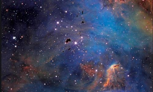 Ilustrasi langit.