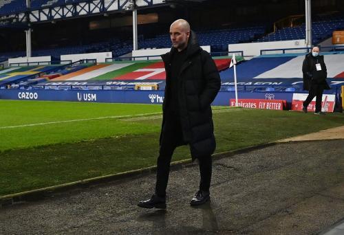 Josep Guardiola berharap para pemain kunci Man City segera kembali (Foto: Reuters)