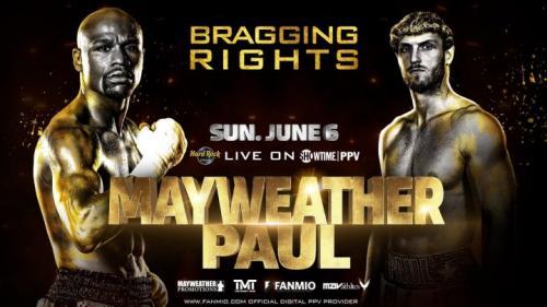 Floyd Meyweather Jr vs Logan Paul