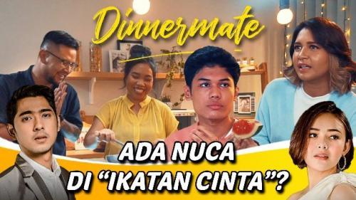 Nuca bahas lagunya di sinetron Ikatan Cinta dalam program Dinnermate. (Foto: YouTube StarHits)