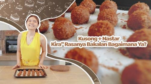 Chef Nindy Sanyoto berbagi resep nastar kukis kosong. (Foto: YouTube Nindy S Official)