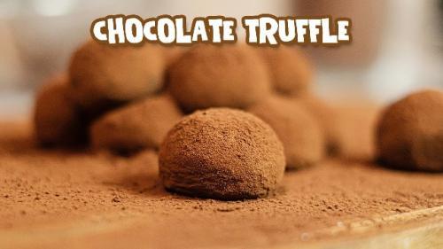 Chocolate truffle ala Chef Ade Koerniawan. (Foto: YouTube Ade Koerniawan)