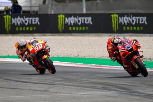 Marc Marquez dan Jack Miller (Foto: MotoGP)