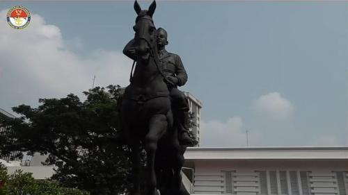 Patung Bung Karno. (Foto: Dok Kemenhan)
