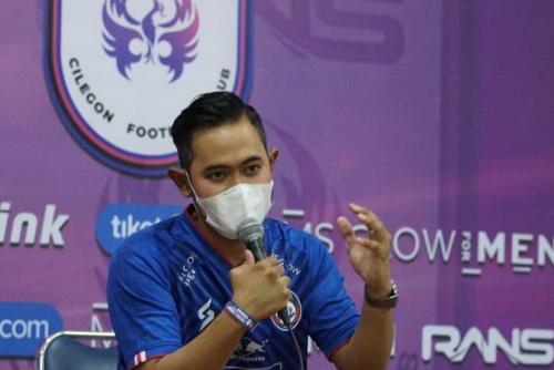 Presiden Arema FC Gilang Widya Pramana